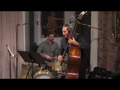 "My jazz trio performing my song ""Tomorrow Blue Is Gone."""