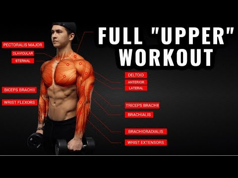 The Best Science-Based Upper Body Workout For Growth (Chest/Back/Arms/Shoulders) Mp3
