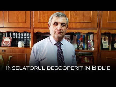 Inselatorul descoperit in Biblie