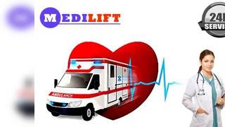 Utilize Medilift Ground Ambulance in Ranchi with Medical Setup