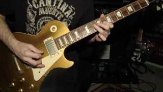 **ZZ TOP - I'm Bad I'm Nationwide (guitar cover WITH BOTH SOLOS)**