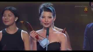 《红星大奖20》Star Awards 20 十大最受欢迎女艺人:Jeanette Aw 欧萱