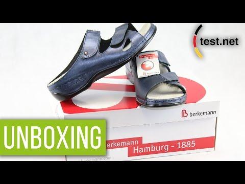 Berkemann | Janna Damen Pantoletten (Unboxing) | test.net