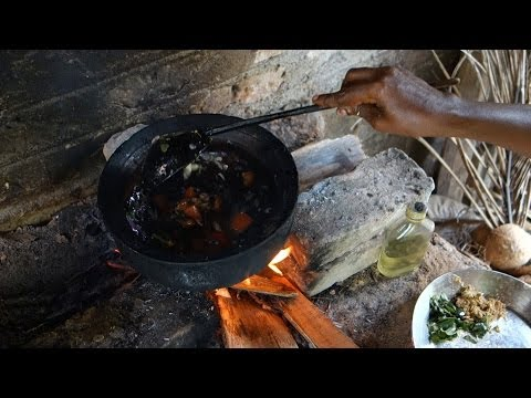 Soya chunks curry Sri Lankan recipe // Soya meat ball curry // Authentic video from a village