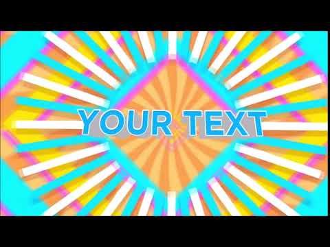 オシャレな文字入りオープニング動画を作成致します 10種類のテンプレをご用意。お好きな文字に変更致します。 イメージ1