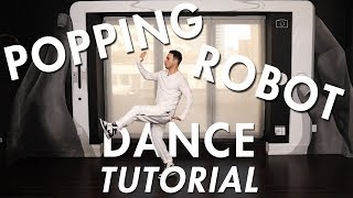 Popping - Robot Combo  (Hip Hop Dance Moves Tutorial) | Mihran Kirakosian