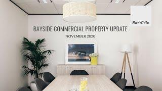 November 2020 Bayside Commercial Property Market Update