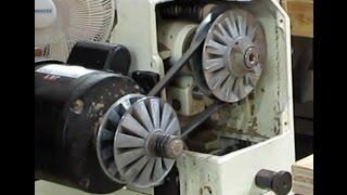 Jet JWL-1236 Lathe Speed-Change Pulley Repair