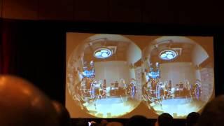 A short segment from Valve's Portal VR Demo GDC 2015 (by Maximun PC)