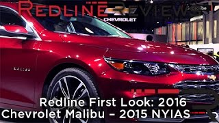 2016 Chevrolet Malibu – Redline: First Look – 2015 New York Auto Show