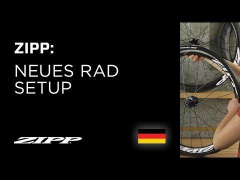 ZIPP: Neues Rad Setup