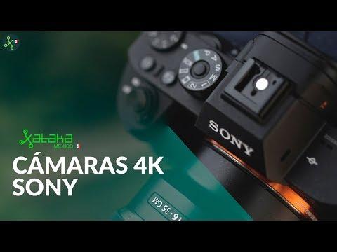 GRABA en 4K con estas cámaras de Sony para TODOS los gustos