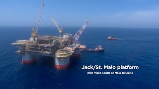 Virtual Reality 360 Tour of Chevron's Jack / St Malo Deepwater Oil Project