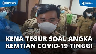 Kena Tegur Luhut soal Angka Kematian Covid-19 di Solo Tinggi, Gibran Ungkapkan Alasannya
