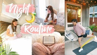 Healthy Night Routine 2018! Workout + Healthy Dinner