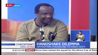 Handshake Dilemma: Opposition struggling to check government   Part 1