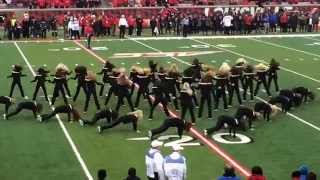 LADY CARDS DANCE TEAM PERFORMANCE AT UofL vs UK FOOTBALL GAME #LadyCards #DanceTeam