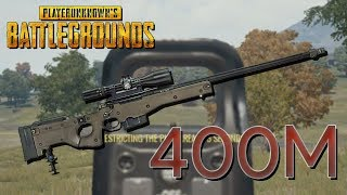 PUBG: AWM + Holographic Sight = 400M?!?!?