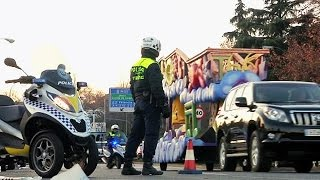 ROUGH RICE - Segurança máxima no desfile do dia de Reis em Madrid e Barcelona