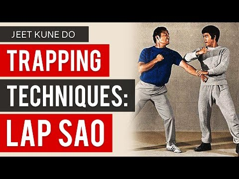 Bruce Lee's Jeet Kune Do Trapping Techniques - Lap Sao - YouTube