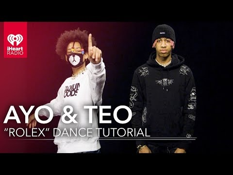 "Learn ""Rolex"" Dance with Ayo and Teo"