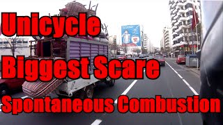 preview picture of video 'Biggest Scare, Unicycle and Spontaneous Combustion.'