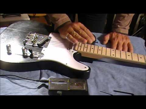 SETTING UP YOUR PIT BULL GUITAR (ACTION)