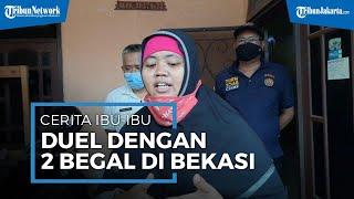 Kisah Viral Driver Ojol Wanita di Bekasi Menang Duel Lawan Begal Meski Diancam dengan Celurit