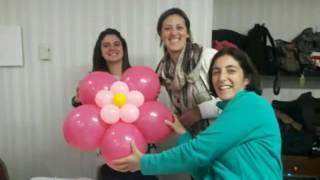 Curso de Decoración Artistica con Globos en Uruguay