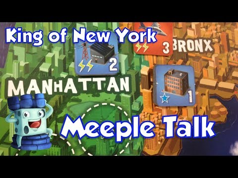King of New York Review with Meeple Talk