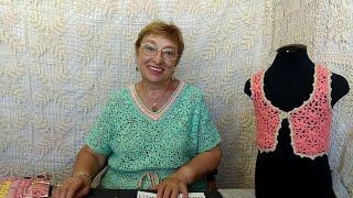 """Вязание крючком для детей от О.С. Литвиной. МК жилетик """"Ягодка"""""""