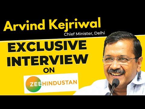 LIVE | Arvind Kejriwal Exclusive Interview on Zee Hindustan