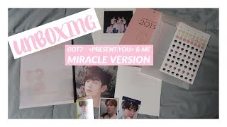 Gambar cover UNBOXING   GOT7 - PRESENT: YOU & ME [Miracle version]