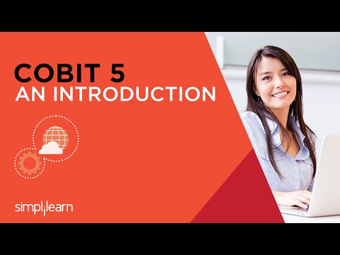 Introduction To COBIT 5 Certification Training   Simplilearn - YouTube