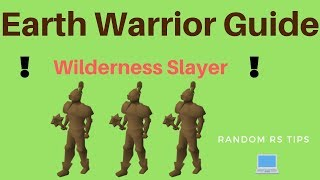 Earth Warriors Wilderness Slayer Guide (OSRS)