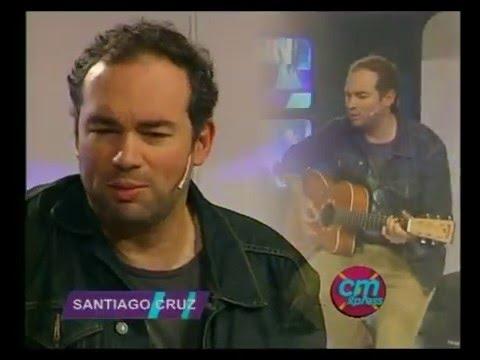 Santiago Cruz video Entrevista y Acústico - CM - Diciembre 2015