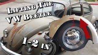 Lifting a VW Beetle