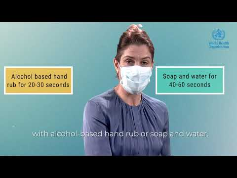 How to wear a medical mask