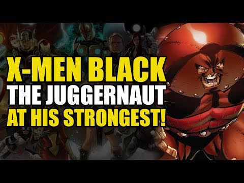 The Juggernaut's True Power! (X-Men Black: Juggernaut)