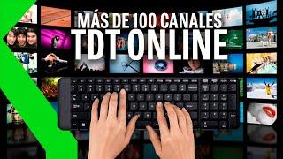VER TDT ONLINE: CIENTOS DE CANALES EN TU PC