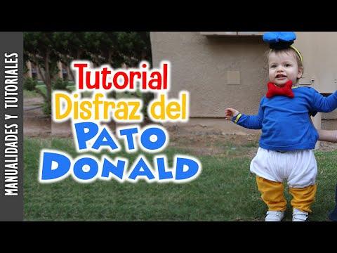 Tutorial, Disfraz del Pato Donald, Tutoriales de Costura, Fiesta, Halloween - JohanaCaudiGs