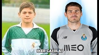 Top 20 Goalkeepers When They Were Kids ● Football Players Then & Now
