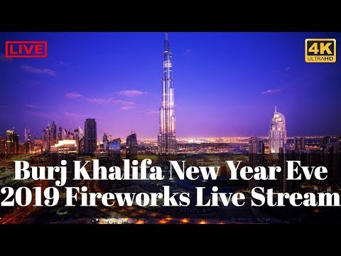 #NEW_YEAR_2019 || New Year Eve 2019 || Fireworks LIVE Coutdown From Around The World !