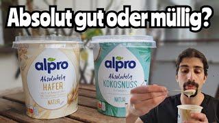 alpro Absolutely Kokos und Hafer im Test | Zutaten & Geschmack #veganuary