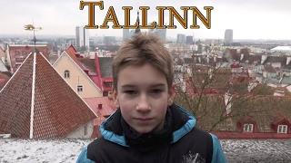 Tallinn. Estonia 4K. Таллин зимой. Radodar TV. 04.02.17