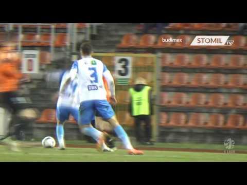 Bramki z meczu Chrobry Głogów - Stomil Olsztyn 3:0