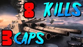 YAMATO 8 Kills And All 3 Cap