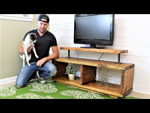The Super Easy TV Stand - DIY Project