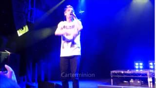 """Aaron Carter """"My Lady"""" LIVE in London 17th Jan 2015"""
