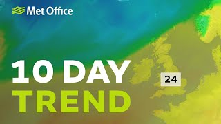10 Day Trend – Easter warmth… and beyond 17/04/19
